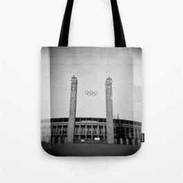 Olympiastadion Tote Bag