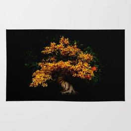Yellow Bonsai Rug