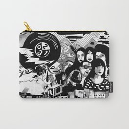 Sound & Vision: 2013 in Music by Steven Fiche Carry-All Pouch