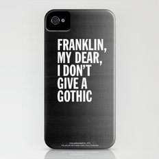 Franklin, my dear, I don't give a gothic iPhone (4, 4s) Slim Case