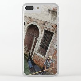 THIS MUST BE THE PLACE: VENICE Clear iPhone Case