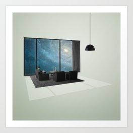 Galaxy Room Art Print