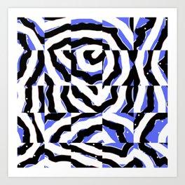 Mosaik Art Print