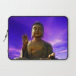 Buddha Blue Dawn Laptop Sleeve