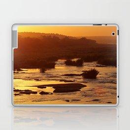 Golden hour in Africa Laptop & iPad Skin