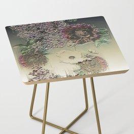 Metallic Botany Side Table