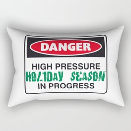 holiday season danger Rectangular Pillow