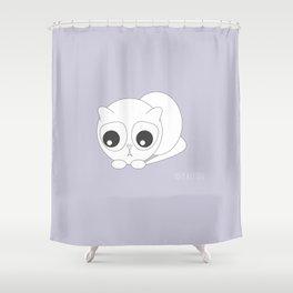 YOUR.KITTEN Shower Curtain