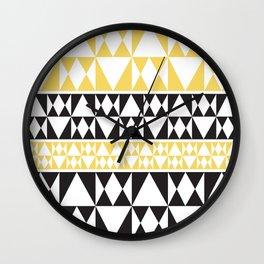 Pasifika Part 4 Wall Clock