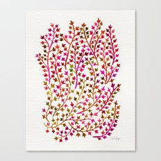Pink Ivy Canvas Print