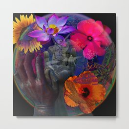 Embrace the Spirit of Sunrise Metal Print