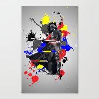 vader Canvas Prints featuring VADER by vicotera