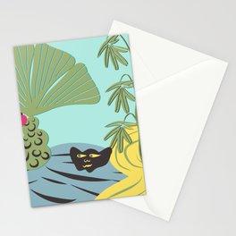 Mojo in the garden Stationery Cards