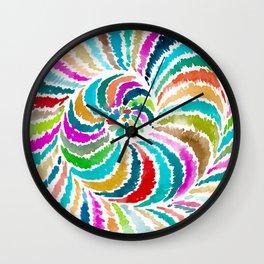 Nautilus Spiral Wall Clock