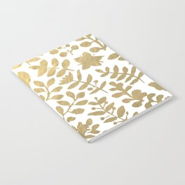 Botanica - gold Notebook
