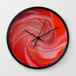 Just a Rose Wall Clock