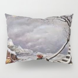 The Truth About Comets by Dorothea Tanning Pillow Sham