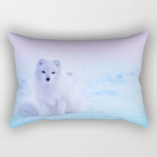 American Eskimo Dog Rectangular Pillow