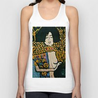klimt Tank Tops featuring Judith - Ode to Klimt  by LadyJennD