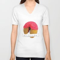 rocky horror picture show V-neck T-shirts featuring Rocky Horror Picture Show Don't Dream it, be it by karebear0025