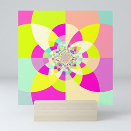Bright & Pastel Kaleidoscope Mini Art Print