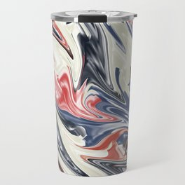 Abstract 187 Travel Mug