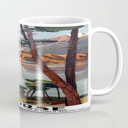Vintage poster - La Corse, France Coffee Mug