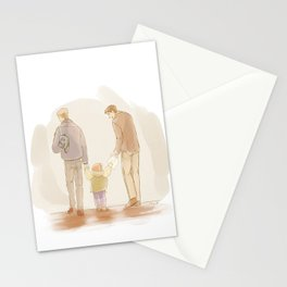 Becoming a Family Stationery Cards