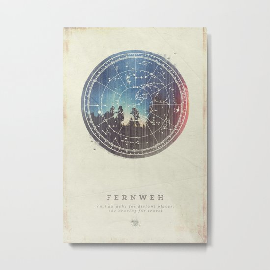 Fernweh Vol 3 Metal Print