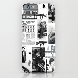 Bonnie And Clyde iPhone Case