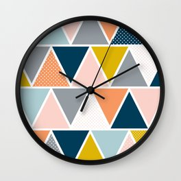 Triangulum Retreat Wall Clock
