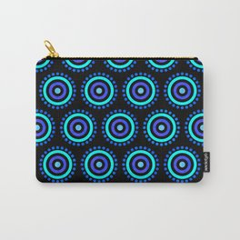 Seamless Colorful Circle Pattern III Carry-All Pouch