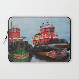 Tugboats on Penobscot Bay Laptop Sleeve