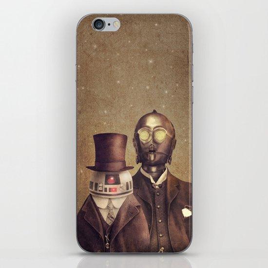 Victorian Robots  iPhone & iPod Skin