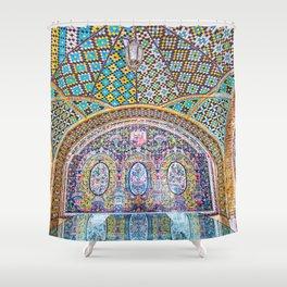 Karim Khani Nook of Golestan in Tehran, Iran Shower Curtain