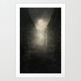 Forgotten alley Art Print