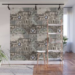 Steampunk Industry Wall Mural