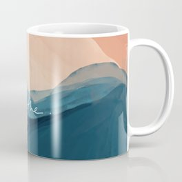 breathe. Coffee Mug