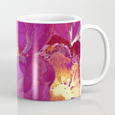 vintage big flower in purple Mug