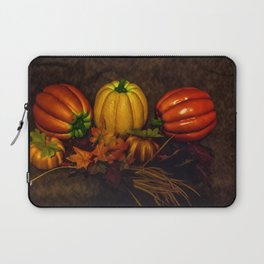 Autumn Pumpkins Laptop Sleeve