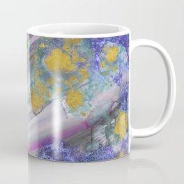 #026 - Abstract in Purple and Green Coffee Mug