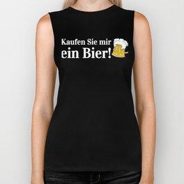 Buy Me a Beer Funny Oktoberfest German Beer Stein Biker Tank