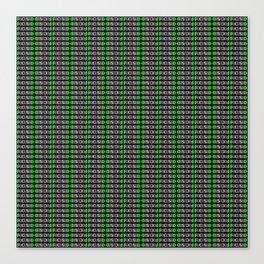FOCUSED Pattern Canvas Print
