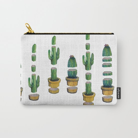 cut cactus Carry-All Pouch