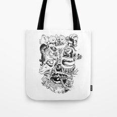 Skull - Inktober 2013 Tote Bag