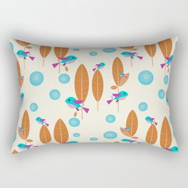 Birdies Tweet Rectangular Pillow