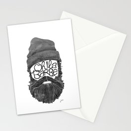 Oh! La barbe Stationery Cards