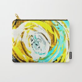 Yellow twister Carry-All Pouch