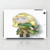 legolas iPad Cases featuring Chibi Legolas by Miss No!