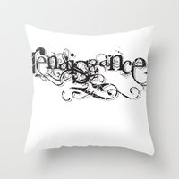 renaissance Throw Pillows featuring renaissance by Jit Dhillon